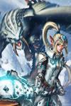Monster Hunter: Barioth X by sakuyasworld