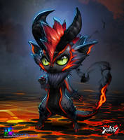 Yanshi :Shadow Familiar Xiao by sakuyasworld