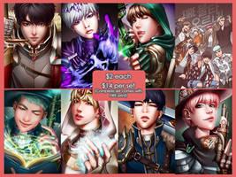 BTS Fantasy set by sakuyasworld