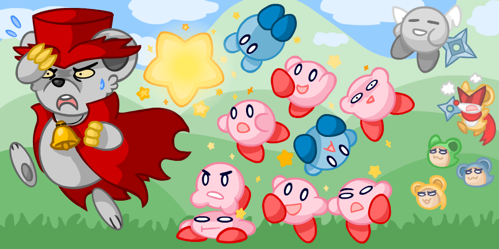 Kirby Squeak Squad Spray Paint Locations