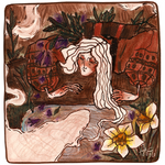 herbs and poet`s daffodil