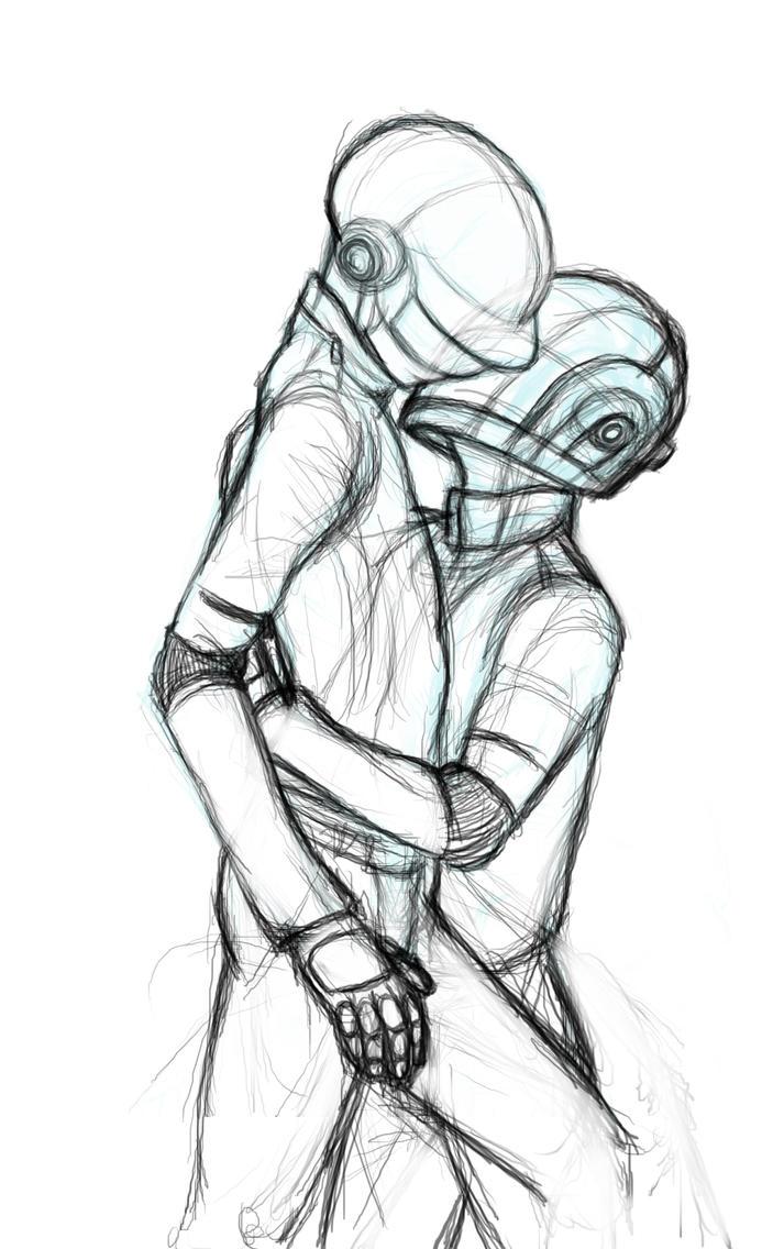 One Line Text Art Hug : Daft hug line art by mrfandump on deviantart