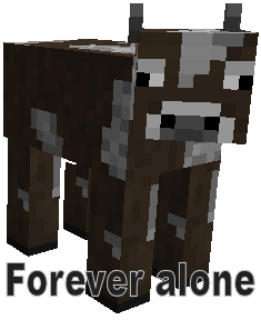 Minecraft - Forever alone by Belfa96