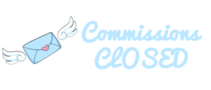 Blue Mail Commissions Closed Icon