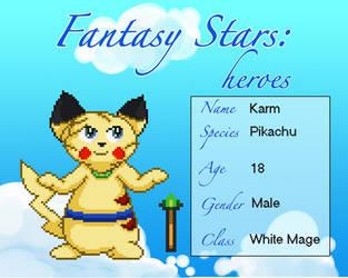 Fantasy Star: Karm by Yukimazan