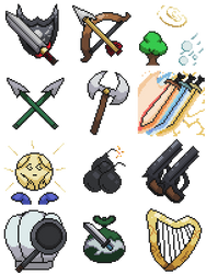Class Icons Sprites Compilation  by Yukimazan