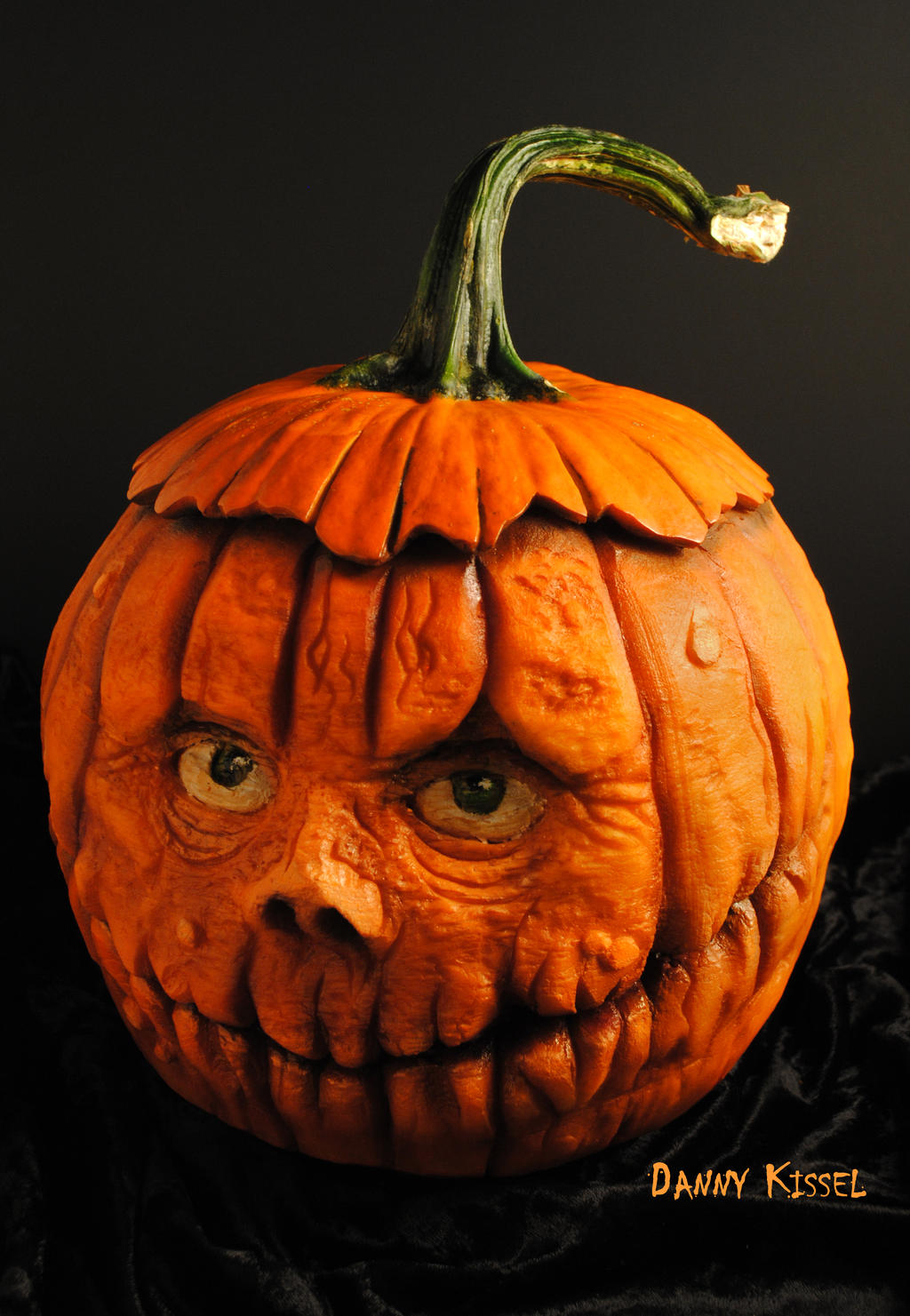 Pumpkin head by kissel71 on deviantart for Pumpkin carving designs pictures