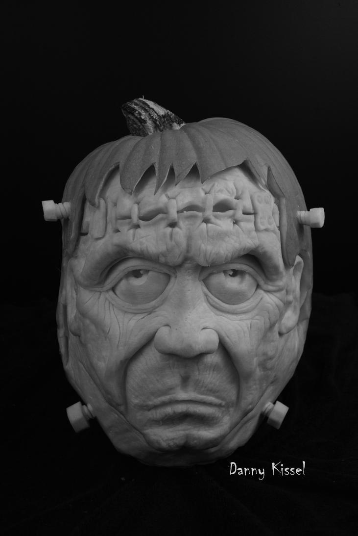 Frankenstein pumpkin by kissel71