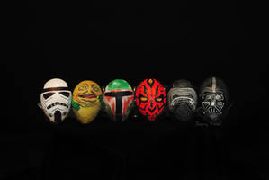 Star Wars eggs 2016 by kissel71
