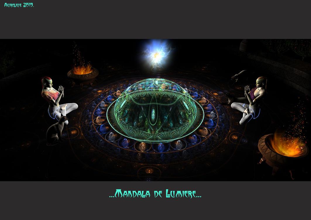 MANDALA OF LIGHT by AURELYUS