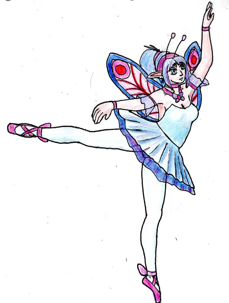 A magical blue ballerina by Thy-Robocop