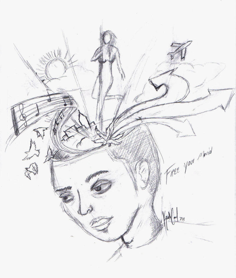 Free your mind sketch by skyhighrise on deviantart for Sketch online free