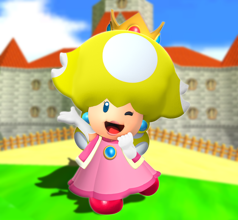 Peach Toad Tf By Tf Shopper On Deviantart