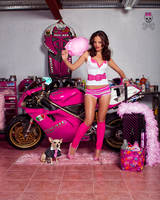 Ducati in pink by ungeniux