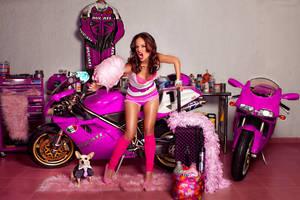 Ducati in pink 2 by ungeniux