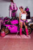 Ducati in pink 4 by ungeniux