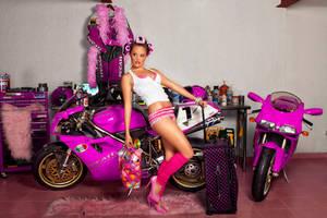 Ducati in pink 5 by ungeniux