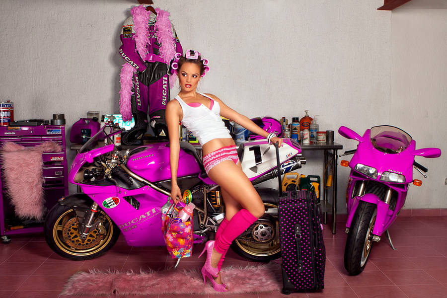 Ducati in pink 5 by ungeniux