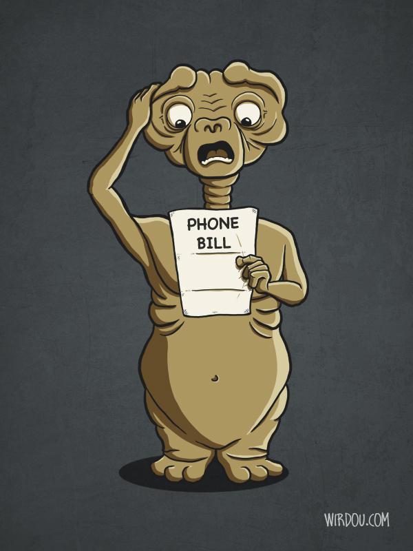Phone Bill by WirdouDesigns