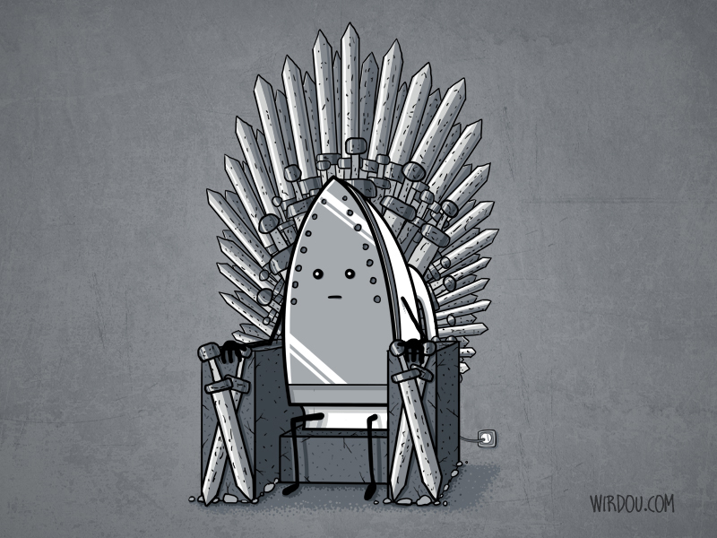 The Iron Throne by WirdouDesigns