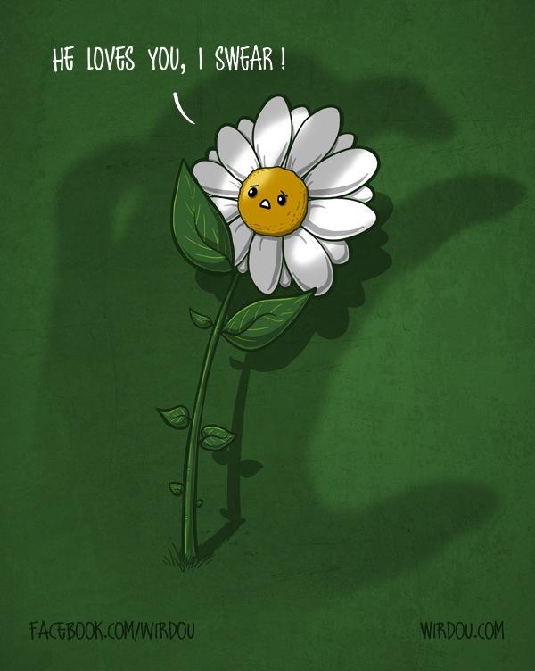 He loves you, I swear! by WirdouDesigns