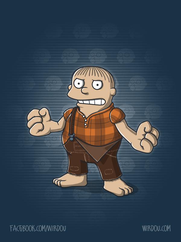 Wreck it Ralph by WirdouDesigns