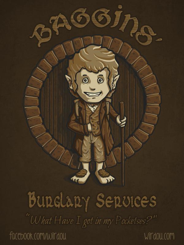 Burglary Services by WirdouDesigns