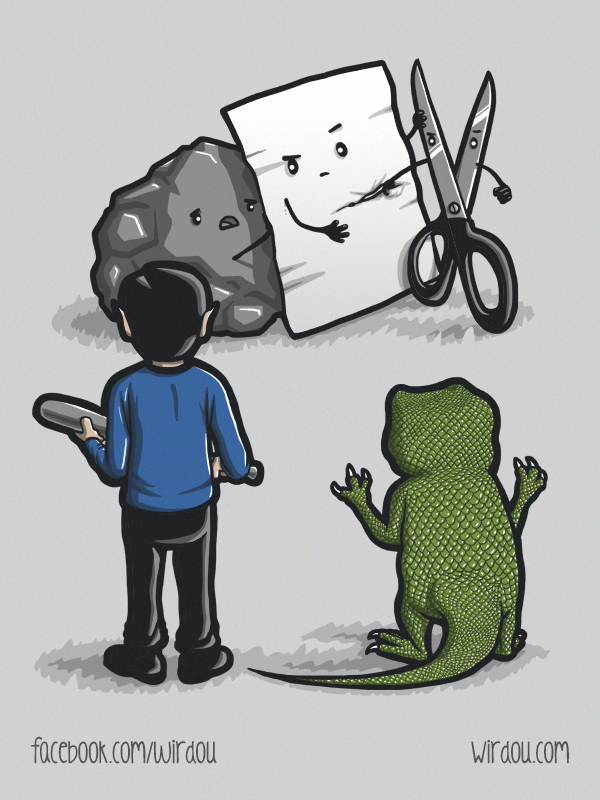 paper rock scissors lizard spock