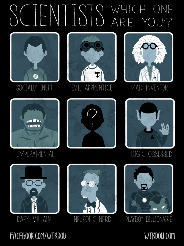 Choose your Scientist by WirdouDesigns