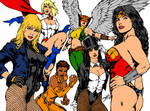 DC Babes Ink and Color