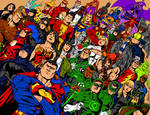 DC Comics Ink and Color