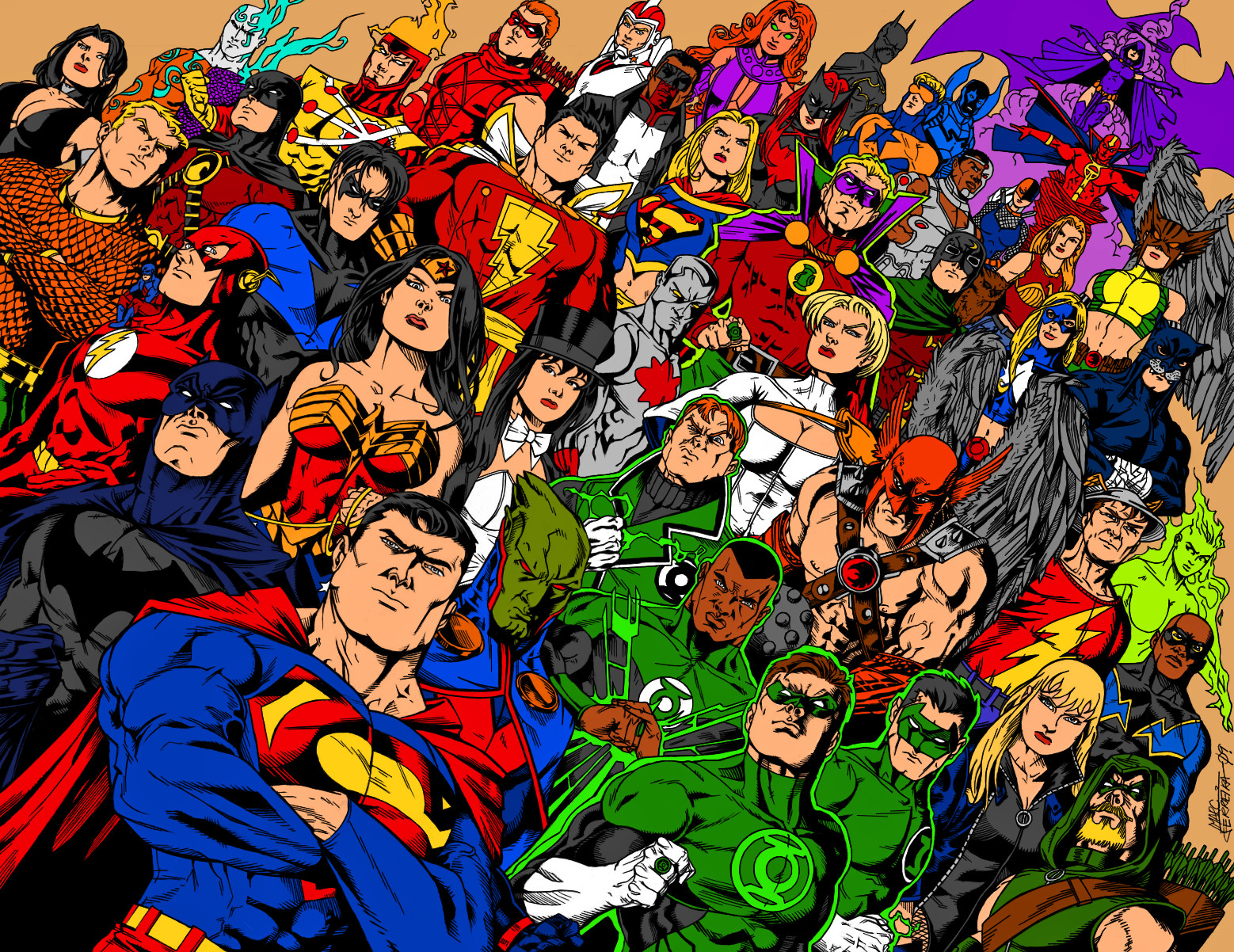 Dc Comics Fans : Dc comics ink and color by xinmyforehead on deviantart