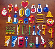 Legend of Zelda Items Galore by XinMyForehead