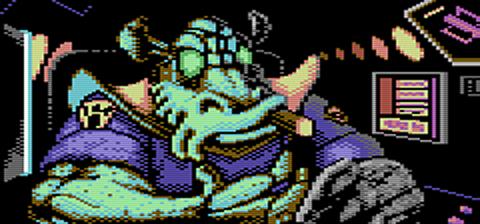 Thraddash C64 by Kwayne64
