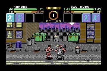 Punch Club C64 demake by Kwayne64