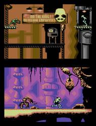 Oddworld: Abe's Oddyssee C64 by Kwayne64