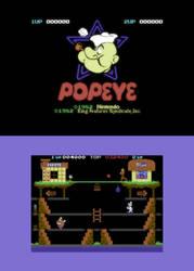 Popeye C64 (remake)