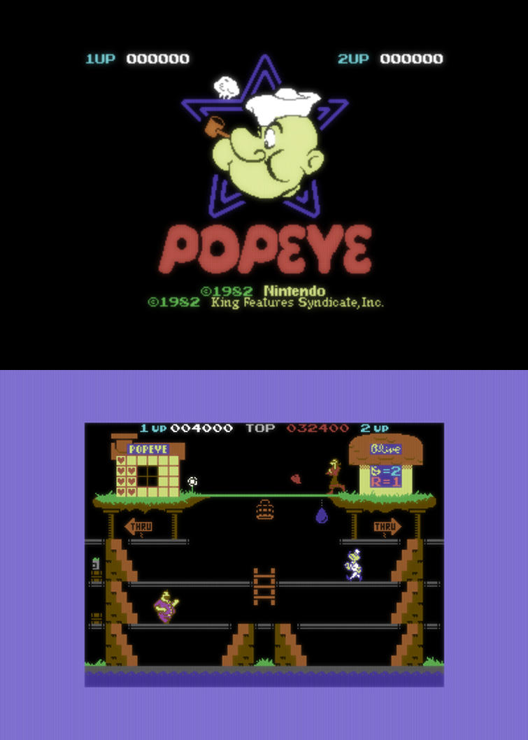 Popeye C64 (remake) by Kwayne64