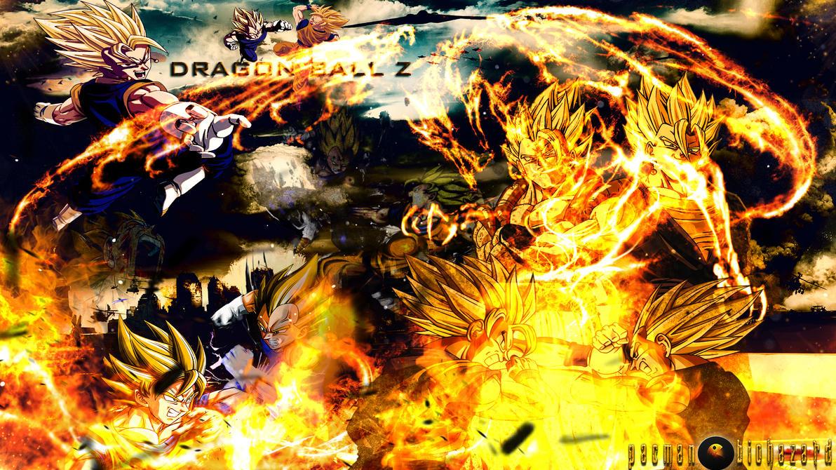 Good Wallpaper Dragon Ball Z Deviantart - dragon_ball_z_hd_background__goku_x_vegeta__by_pacmanbiohazard-d6ry7bk  Graphic_908062 .jpg