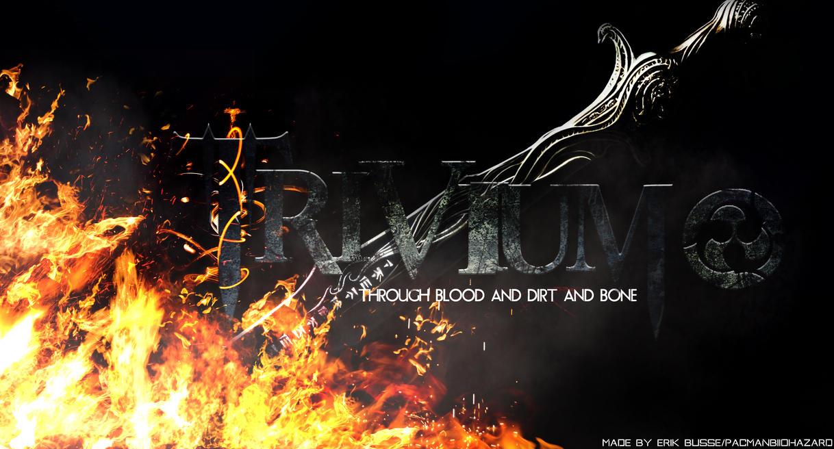 Trivium Hd Desktop Background Wallpaper By Pacmanbiohazard