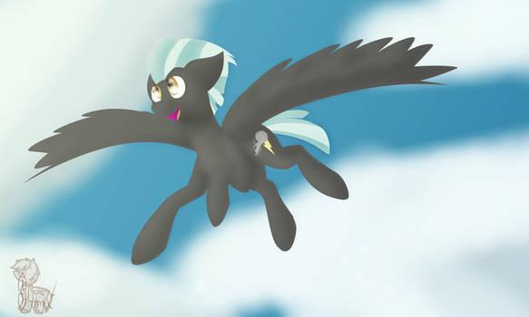 Thunderlane flies