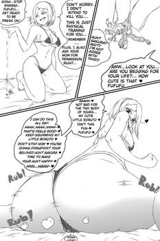(Giantess Sakura Haruno) Training  With Your Aunt~