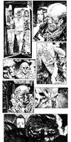 Nightbreed Issue 10 Panel Mish Mash