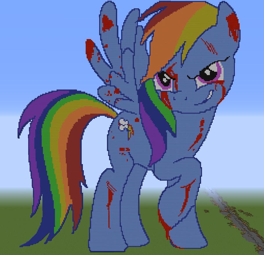 Pixel Art : Rainbow Factory by Etoile-de-Feu