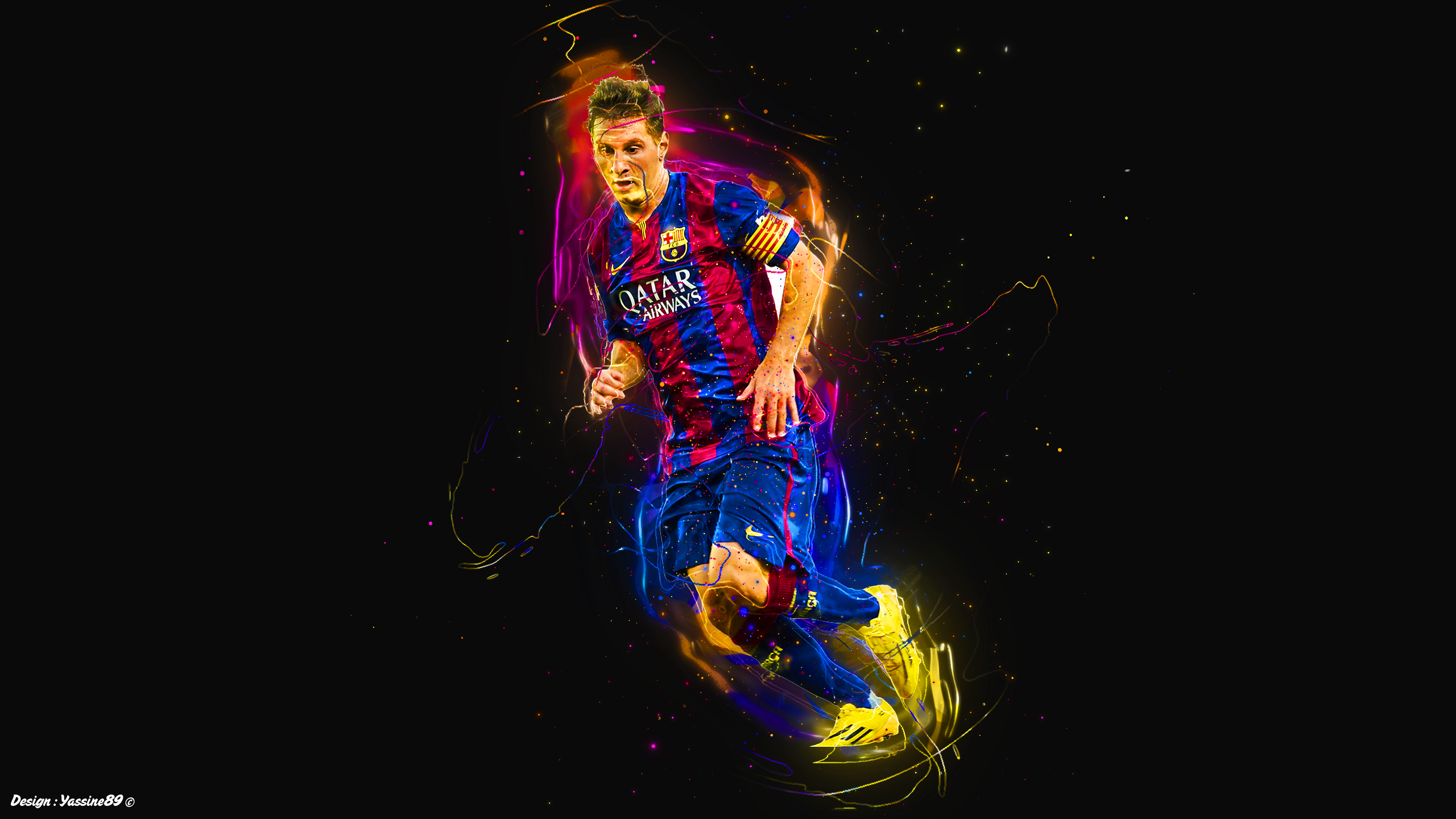 Wallpaper Messi 2015 By Yassine89
