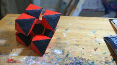 Macle de 7 octaedres by Loki7z