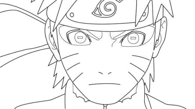 Naruto Modo Sabio De Los 6 Caminos Para Colorear: Naruto Modo Sabio Para Colorear