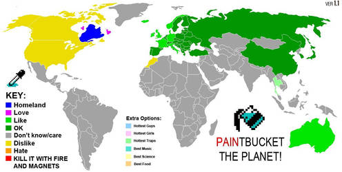Paintbucket the World by cupxkake