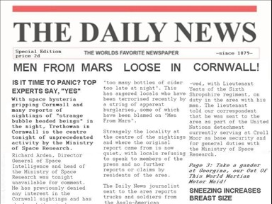 Men From Mars Loose by ConfidentialReporter