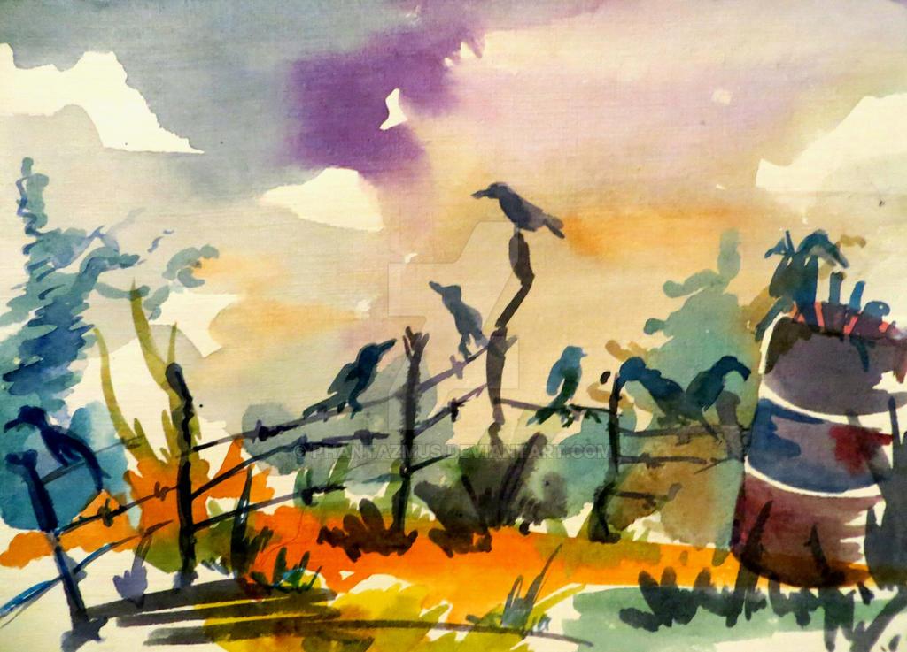 crows by Phantazmus
